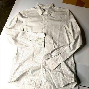 UniQlo Mens Small Casual Button Down Shirt Top